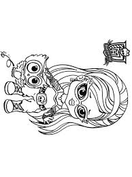 monster coloring pages download print monster