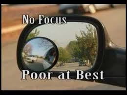 Driving Blind Spot Check Worlds Best Blind Spot Safety Mirror Maxi View Youtube