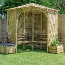 garden arbour seats internet gardener