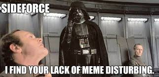 Your Own Meme - i find your lack of unit tests disturbing darth vader force
