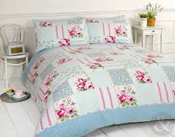 Chic Duvet Covers Blue Shabby Chic Bedding Twin Shabby Princess Floral Chic Blue