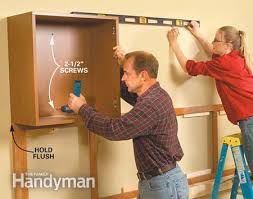 Install Wall Cabinets How To Install A Cabinets Wall Everdayentropy Com