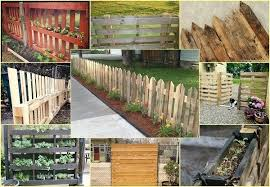 Small Garden Fence Ideas Ingenius Pallet Fence Ideas Anyone Can Make