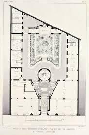 Paris Apartment Floor Plans 747 Best Historic Book Architecture Images On Pinterest English