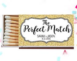 matchbook wedding favors wedding matches etsy
