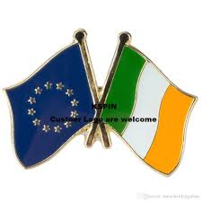 Flag Badges Embroidered 2018 European Union Ireland Flag Badge Flag Pin A 0003 From