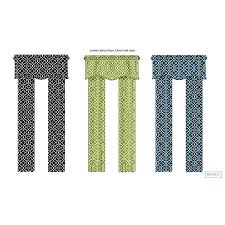 Waverly Curtain Panels Shop Waverly 84 In Citron Cotton Back Tab Single Curtain Panel At