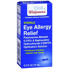 Clear Eyes Cooling Comfort Allergy And Itchy Eye Relief Walgreens