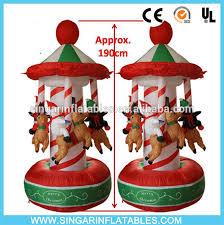 christmas carousel 2016 christmas carousel portable small merry go