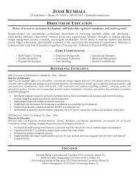 Core Competencies On Resume Resume Examples Resume Template For Education Experienced Teacher