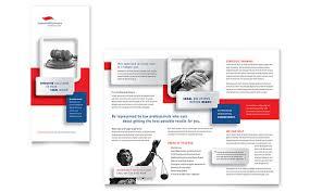 justice legal services brochure template design