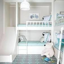 3 Kid Bunk Bed Bunk Bed With Slide And Boy Shared Bedroom Loft