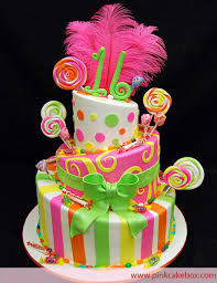 colorful sweet 16 candy cake sweet 16 cakes