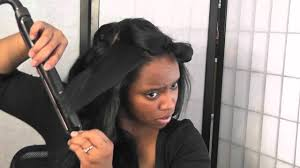 wet and wavy human hair weave hairstyles hair tutorial wet wavy extensions to straight youtube