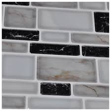 Peel And Stick Kitchen Backsplash Tiles by Peel N Stick Kitchen Backsplash Tiles Stone Brick Pattern Wall