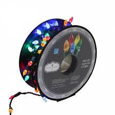 trim a home 200 ct multicolorcolor c3 led lights on a reel shop
