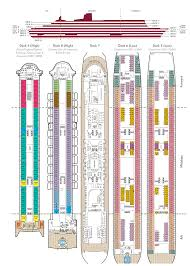 Carnival Conquest Floor Plan by Deck Plans Queen Mary 2 Deck Design And Ideas