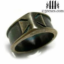 Gothic Wedding Rings by Gothic Wedding Rings U0026 Silver Medieval Engagement Bands For Men