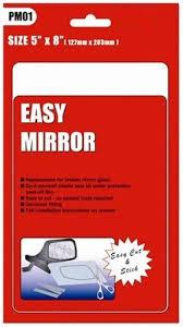 car door mirror glass universal car door wing mirror glass replacement 5