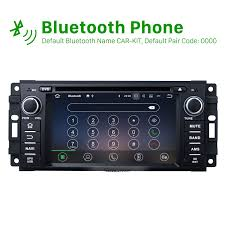 2005 jeep grand bluetooth 2005 2011 jeep grand aftermarket android 7 1 hd touch