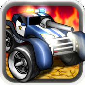 tiny monster truck car war warriors army shooter gioco gratis