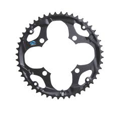 wiggle shimano fc m411 black 48t chainring chainrings