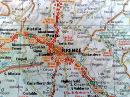 Road Map Of Italy by Map Of Italy Florence And Surrounding Area Deboomfotografie