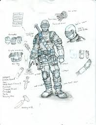 g i joe characters snake eyes shawn woods art director senior