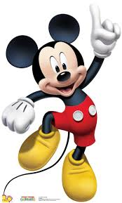 mickey mouse photo booth props mickey mouse mickey mouse clubhouse cardboard cutout standup