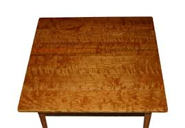 Cherry Drop Leaf Table Curly Cherry Drop Leaf Table