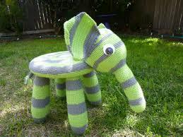 elephant chair jazmo crochet