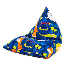 children u0027s pyramid shape bean bag chair gaming large kids beanbag