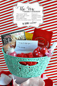 date gift basket ideas the vow s date idea basket giveaway create gift and