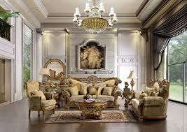 Classic Livingroom Deliberate Mediterranean Luxury Living Rooms Designs With Rounded