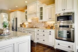 Blue Shabby Chic Kitchen by Pine Wood Honey Raised Door Who Makes The Best Kitchen Cabinets