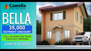 bella the newest model in camella 35k outright discount youtube