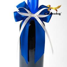 bows for wine bottles diy pre made mini satin craft ribbon bow for wine bottle buy