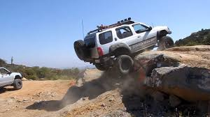 nissan xterra lifted nissan xterra rock crawler youtube