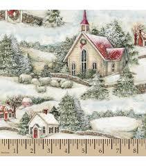 holiday inspirations christmas fabric susan winget winter church