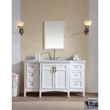 Depth Of Bathroom Vanity Narrow Depth Bathroom Vanity Wayfair