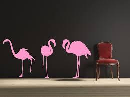 flamingos wall decal by decor designs decals pink flamingos hawaiia