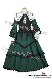 Jade Halloween Costume Rozen Maiden Suiseiseki Jade Stern Cosplay Costume Cosplaysky