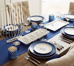 celebration plate hanukkah celebration icon salad plate set of 4 pottery barn
