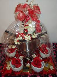 date gift basket ideas fondue pot gift basket baseball basket