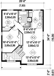 split level house floor plans economical split level home plan 80376pm architectural designs