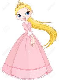 illustration of cute princess royalty free cliparts vectors