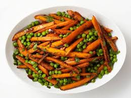 Thanksgiving Recipes Carrots Roasted Carrots And Peas Recipe Food Network Kitchen Food Network