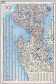 Maps Seattle by Seattle Street Maps Chicago Map