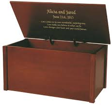 wedding gift keepsake box wedding keepsake box personalized wedding keepsake chest