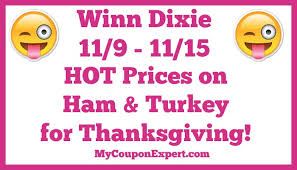 winn dixie ham and turkey deals for thanksgiving archives my
